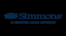 Simmons, spécialiste et inventeur du ressort ensaché pour le bien être haute définition de vos matelas.
